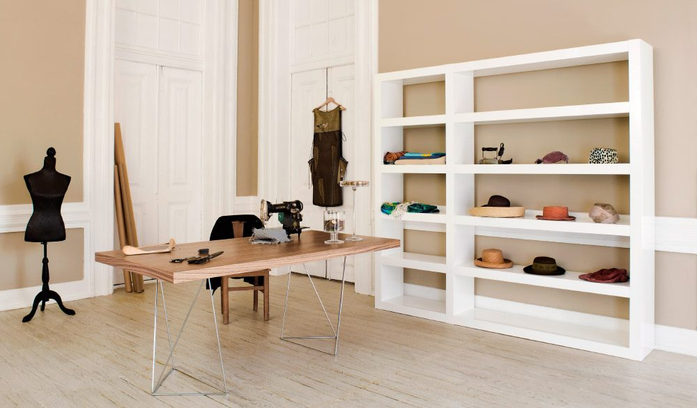 Ideas para decorar un estudio - Baldas y estanterias ...