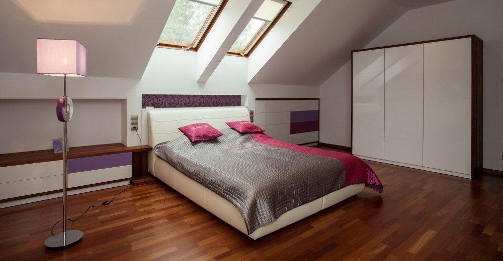 decoracin de un dormitorio en la buhardilla - Decoracion Buhardillas