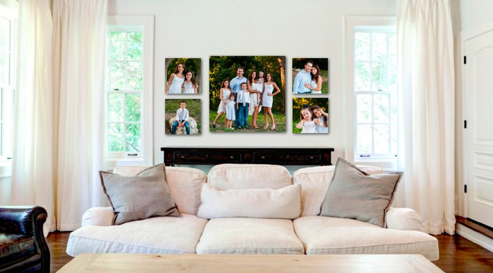 Ideas para decorar con fotos - Como decorar pared con fotos ...
