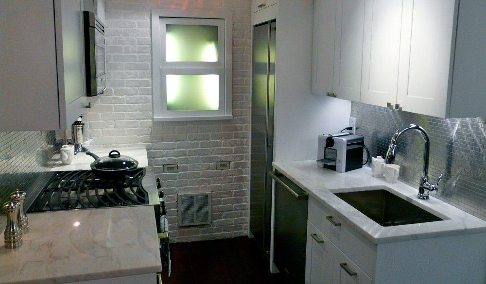 Ideas para decorar una cocina peque a - Como amueblar una cocina pequena ...