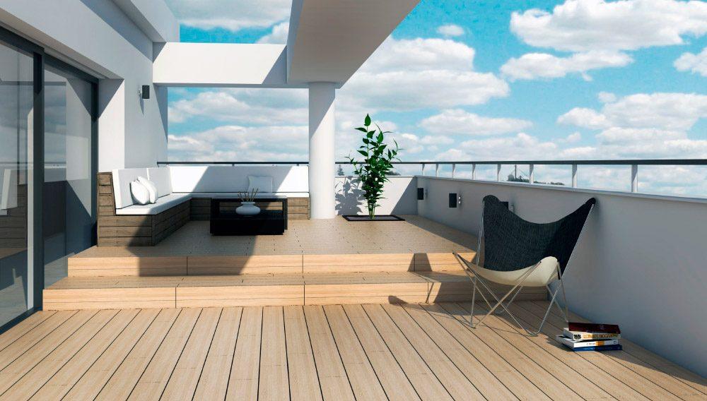 Ideas para decorar una terraza - Ideas para suelos de interior ...
