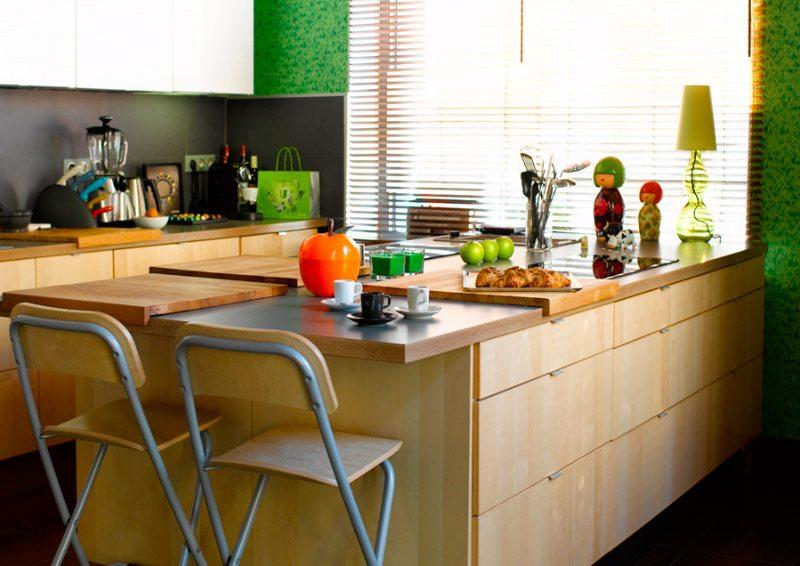 Galer a de im genes ideas para decorar una cocina peque a - Islas cocina pequenas ...