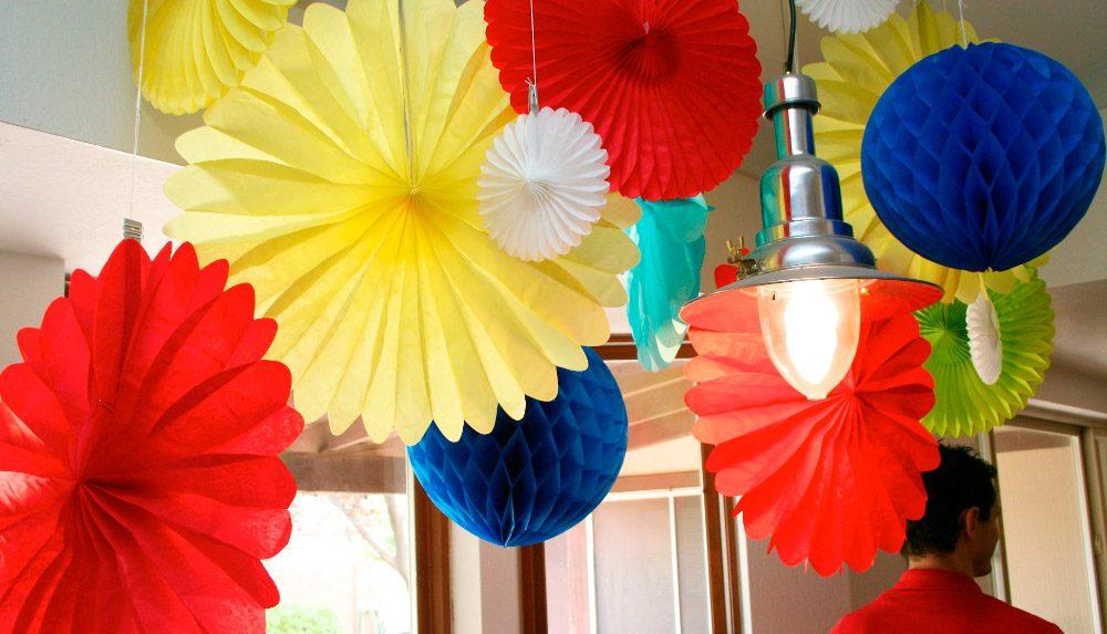 Luces para decorar fiesta de cumplea os im genes y fotos - Decoracion cumpleanos adultos en casa ...