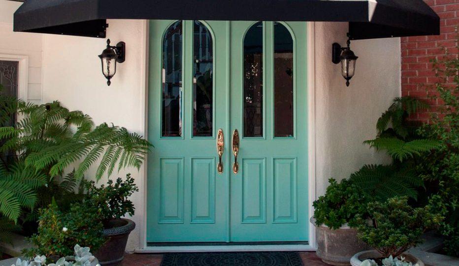 Ideas para decorar las puertas for Idealista puertas verdes