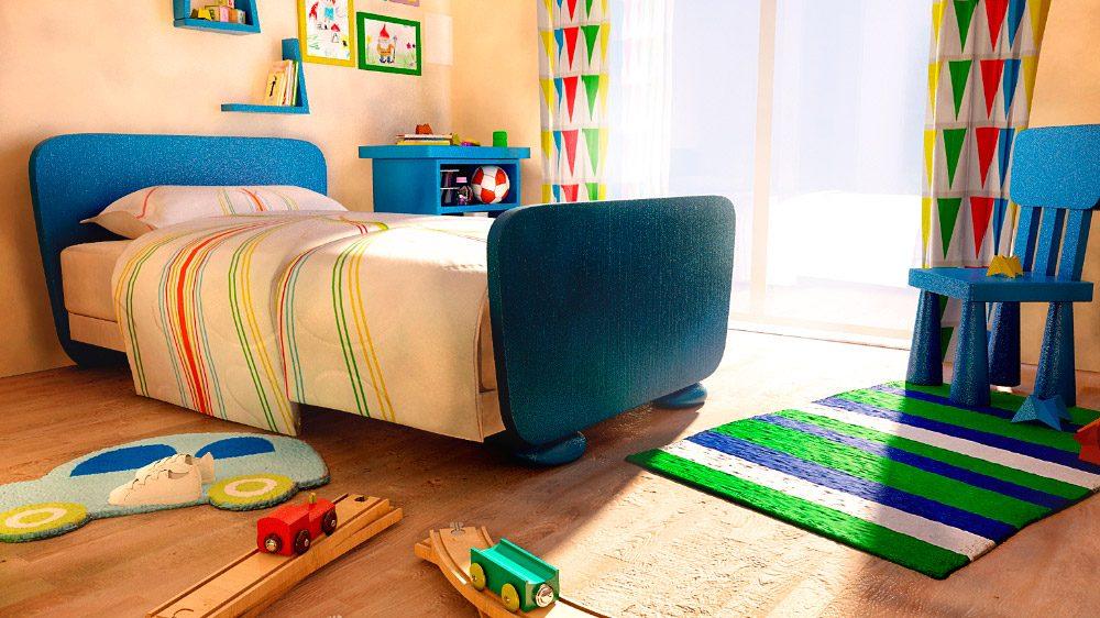 Muebles pr cticos para habitaciones infantiles im genes for Muebles para habitaciones infantiles
