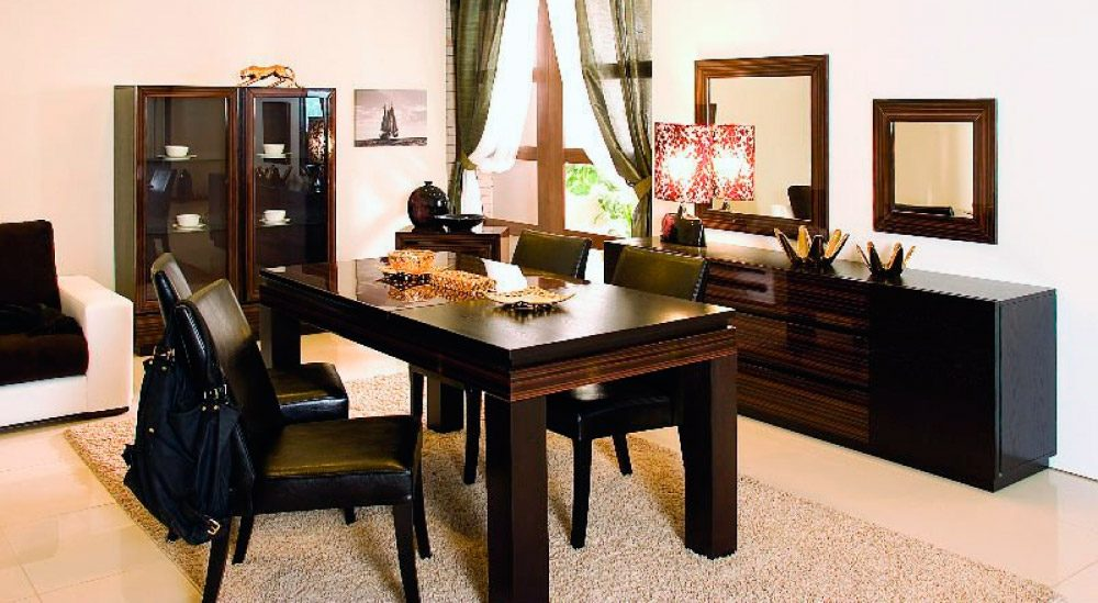 Ideas decoracion comedores modernos for Muebles living comedor modernos