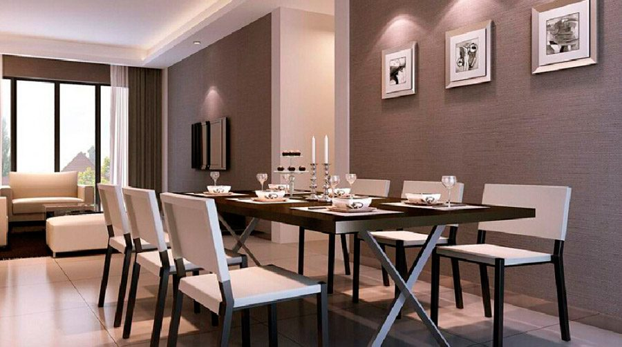 Galer a de im genes ideas para decorar un sal n comedor - Ideas decorar salon comedor ...